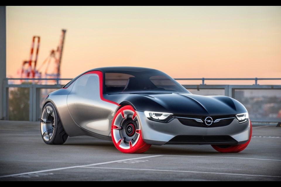 Opel GT Concept Credit Adam Opel AG