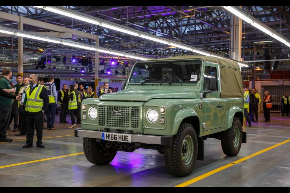 Land Rover Defender 90 Heritage Credit Land Rover