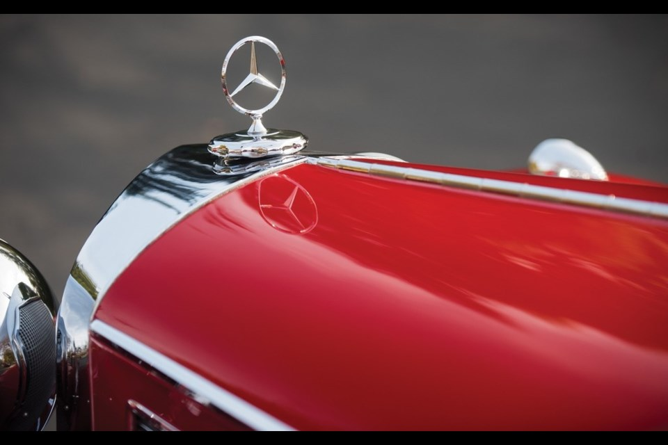 1937 Mercedes-Benz 540 K Special Roadster Credit RM Sotheby