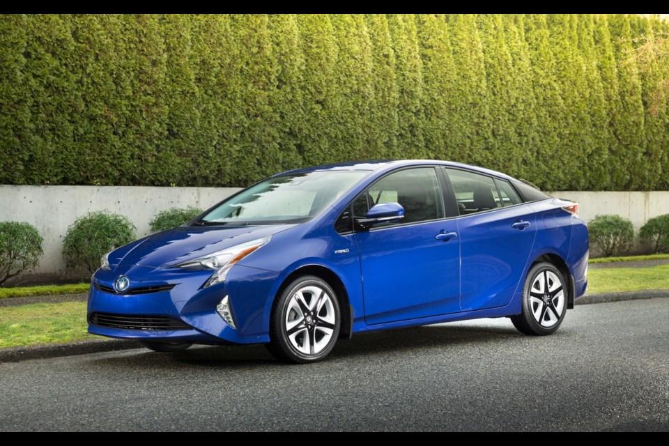 2016 Toyota Prius Credit Toyota Canada