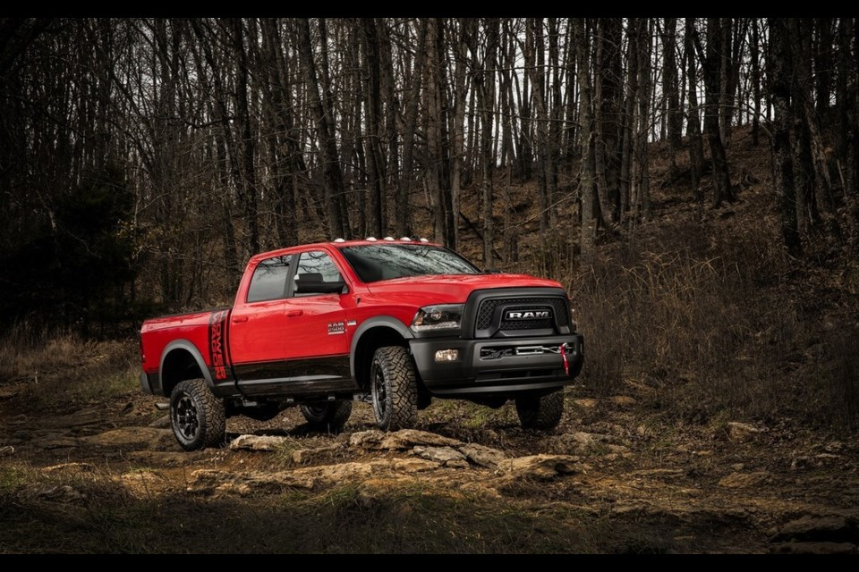 2017 Ram 2500 Power Wagon Credit Fiat Chrysler Automobiles