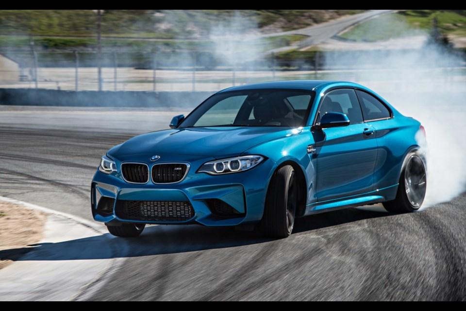 2016 BMW M2 Credit BMW AG