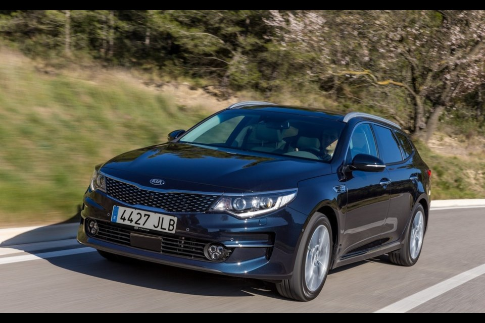 Kia Optima SportWagon Credit Kia