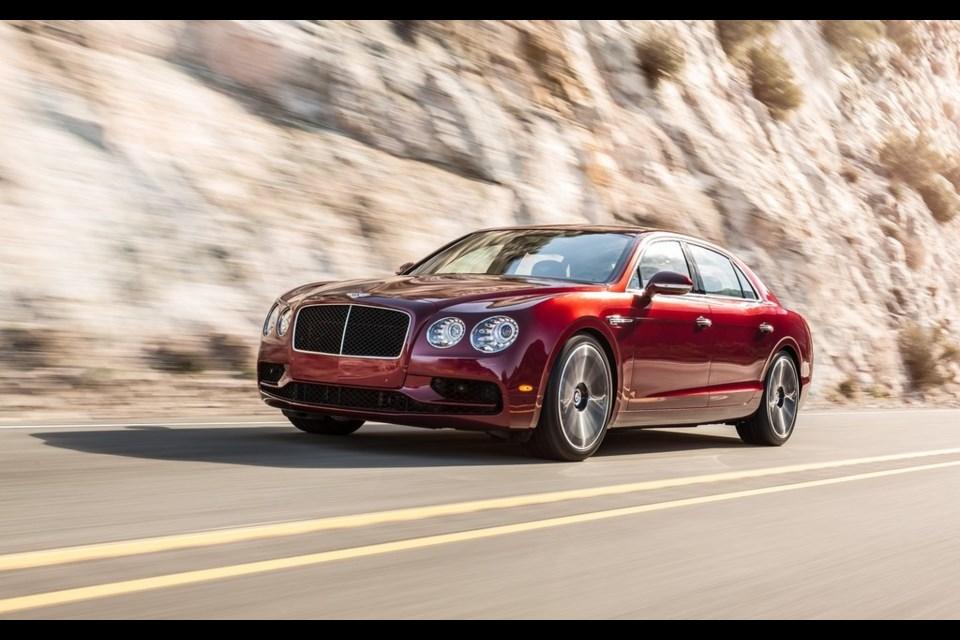 Bentley Flying Spur V8 S Credit Bentley