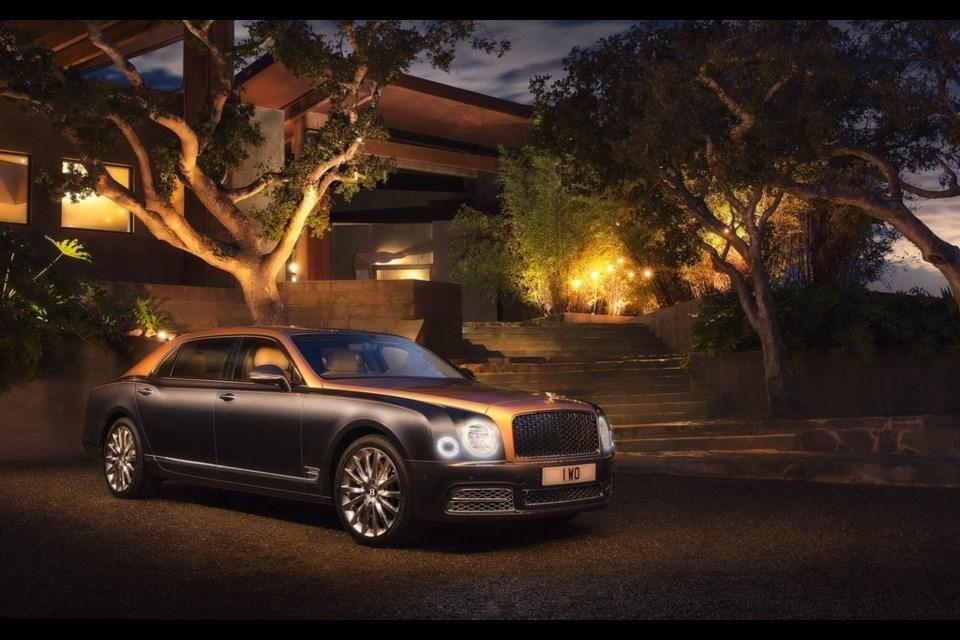 2017 Bentley Mulsanne Credit Bentley