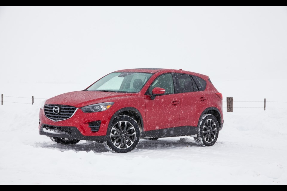 i-ACTIV, Mazda's intelligent all-wheel-drive system Credit Mazda