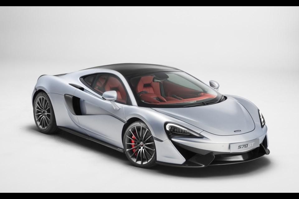 McLaren 570GT Credit McLaren