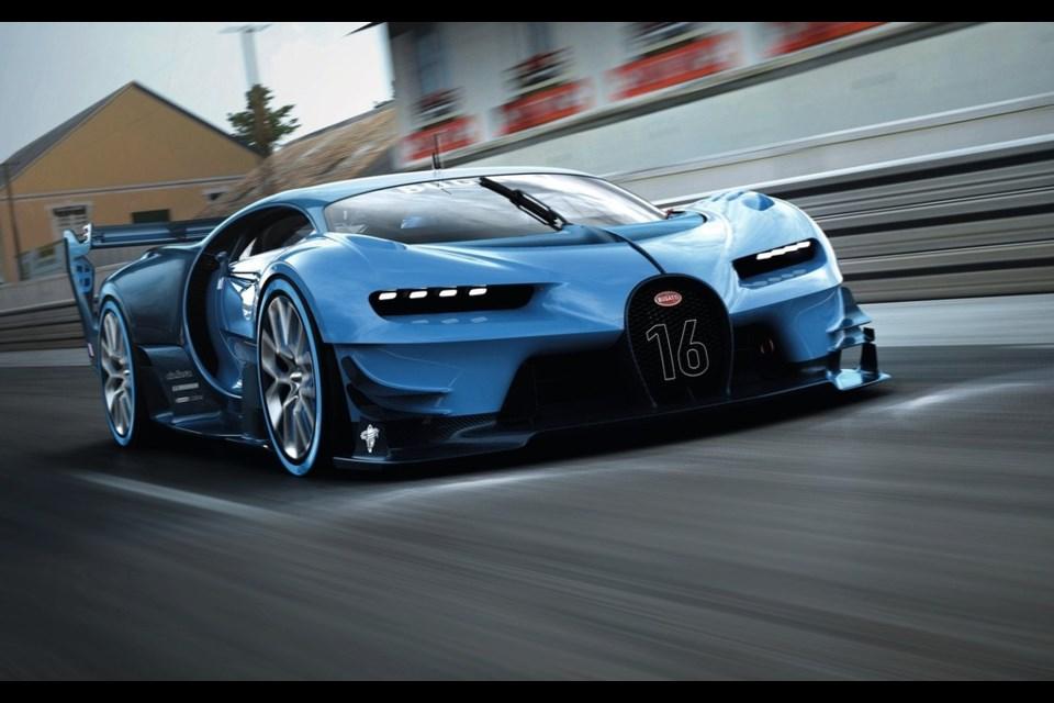 Bugatti Chiron Vision Gran Turismo Credit Bugatti