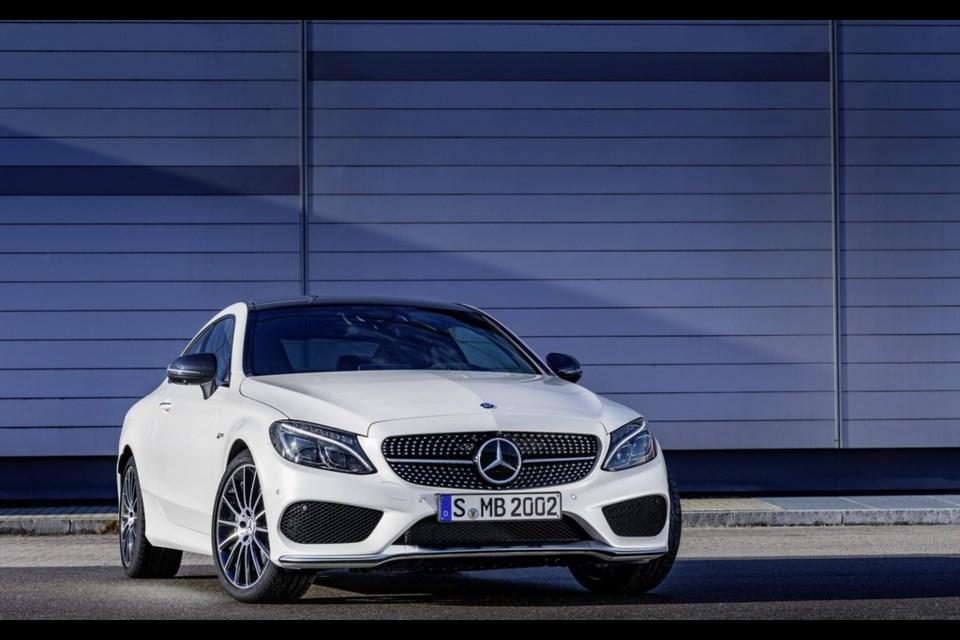 Mercedes-AMG C 43 Coupe Credit Mercedes-AMG