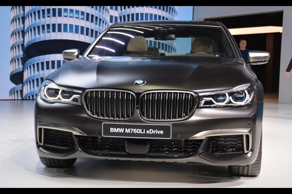 BMW M760Li xDrive Credit David Miller
