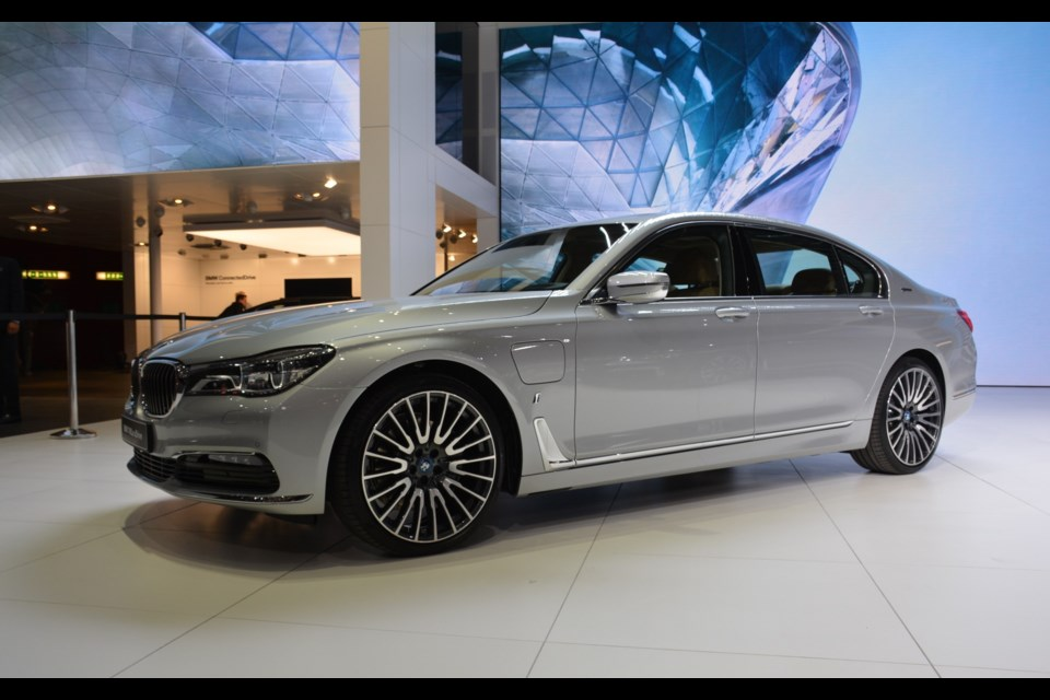 BMW 740Le xDrive Credit David Miller