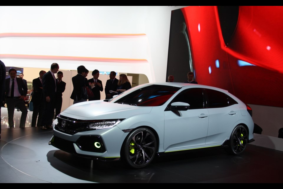 Honda Civic Hatchback Prototype Credit Michel Deslauriers