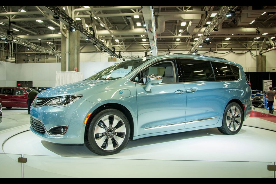 Chrysler Pacifica Credit Samuel Labrie-Ross