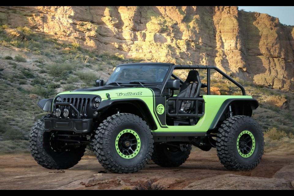 Jeep Trailcat Concept Credit Fiat Chrysler Automobiles