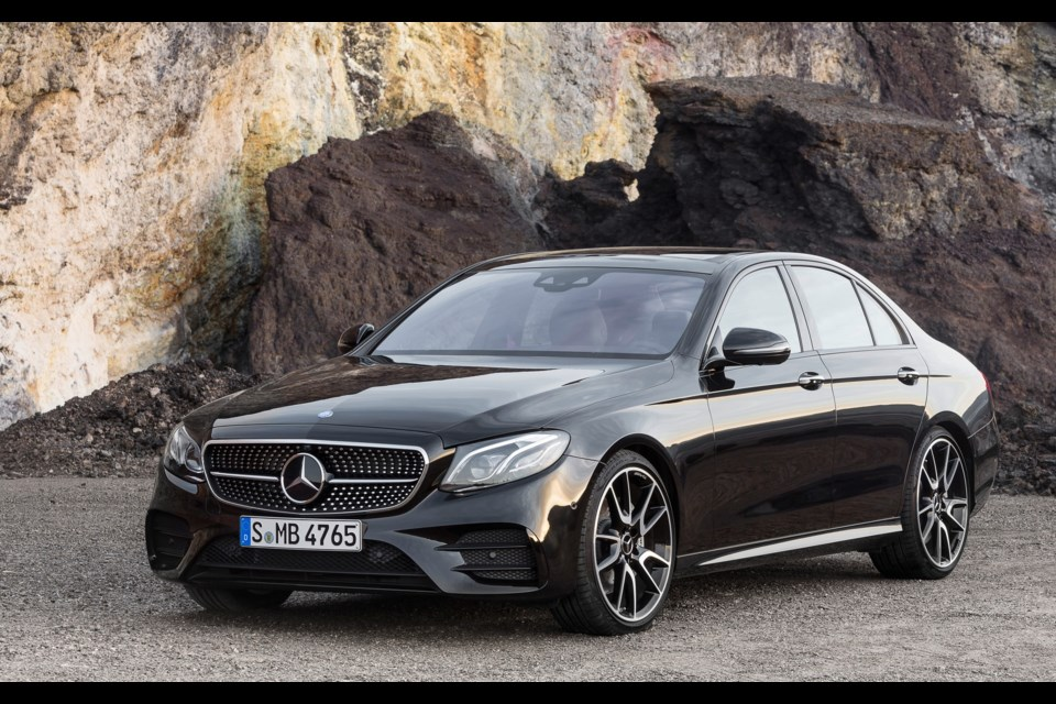 Mercedes-AMG E 43 Credit Daimler AG