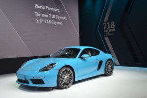 Here is the 2017 Porsche 718 Cayman