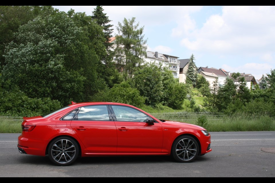 2018 audi s4. contemporary audi 2018 audi s4 credit michel deslauriers in audi s4