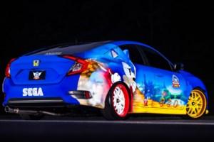 Sonic Civic Celebrates 25th Anniversary of SEGA's Video Game Star