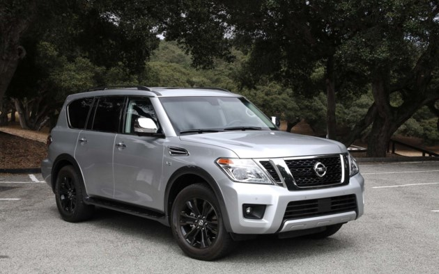 2017 nissan armada an almost modern suv. Black Bedroom Furniture Sets. Home Design Ideas