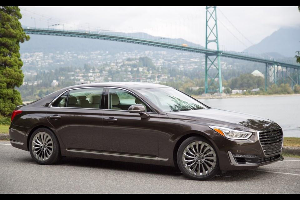 2017 Genesis G90: the Brand's First! - Sudbury.com