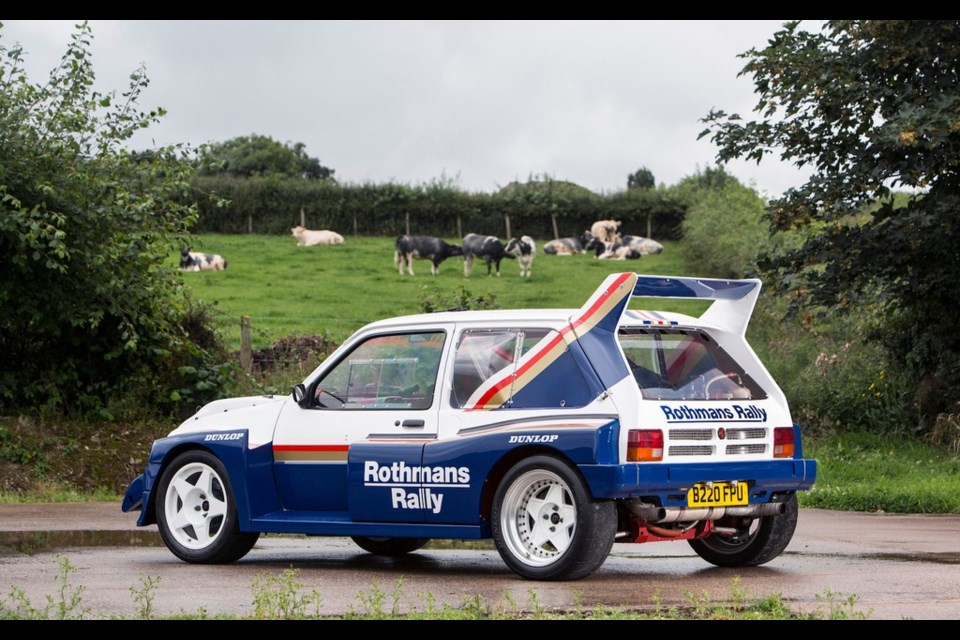 Group B\'s Unknown Contender: An MG Metro 6R4 For Sale ...