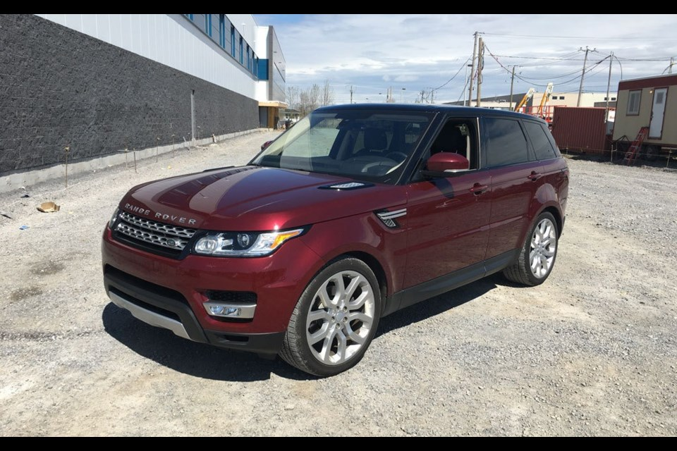 2016 Range Rover Sport Td6 Top Of The Food Chain