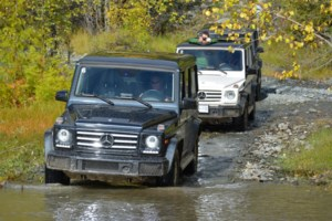 Hitting the trails with the Mercedes-Benz G 550
