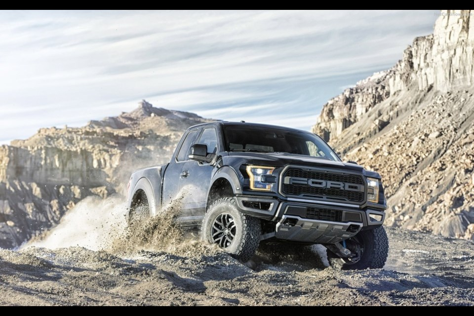 2017 ford raptor credit ford. Cars Review. Best American Auto & Cars Review