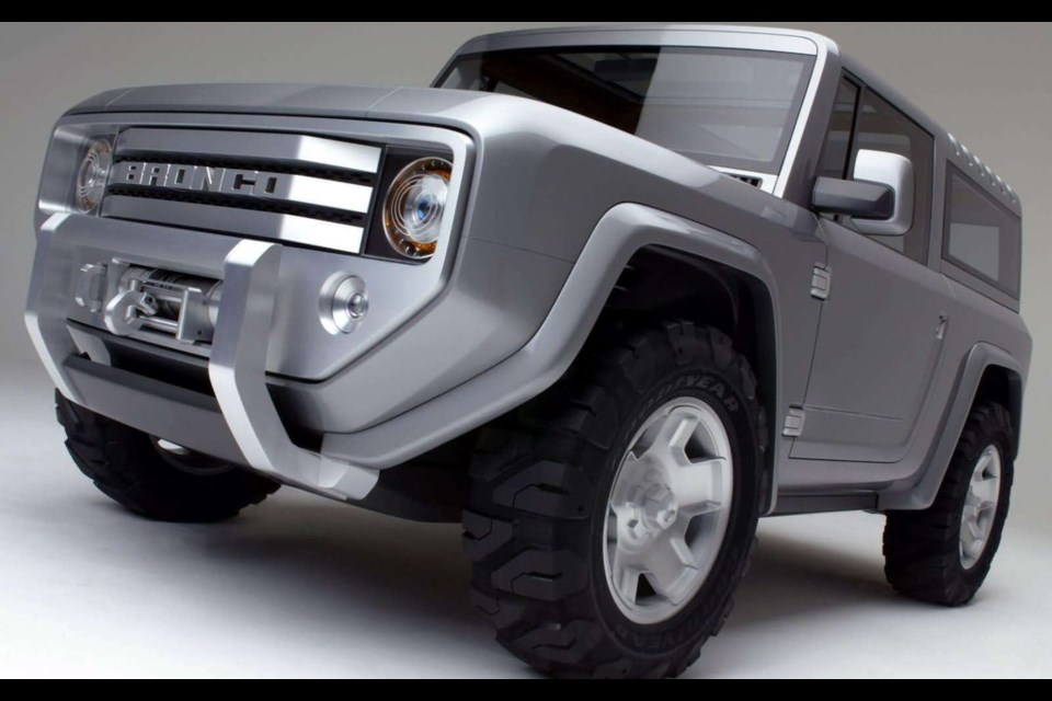 Ford Bronco Concept Credit