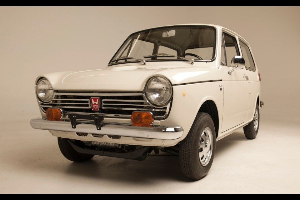 Honda S Fully Restored Serial One First Automobile In