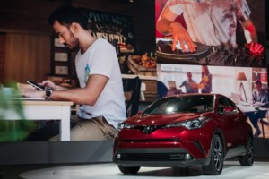 2018 Toyota C-HR: for Attracting Young Professionals