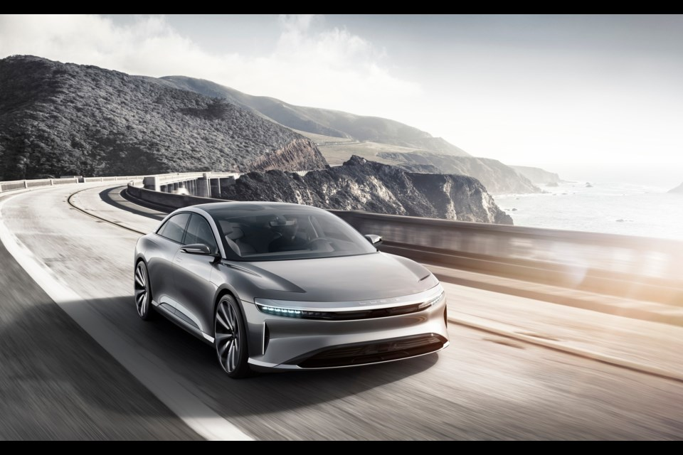 Credit Lucid Motors