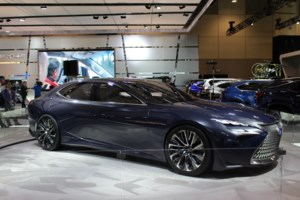 Lexus LF-FC Concept: Heading Down the Hydrogen Path