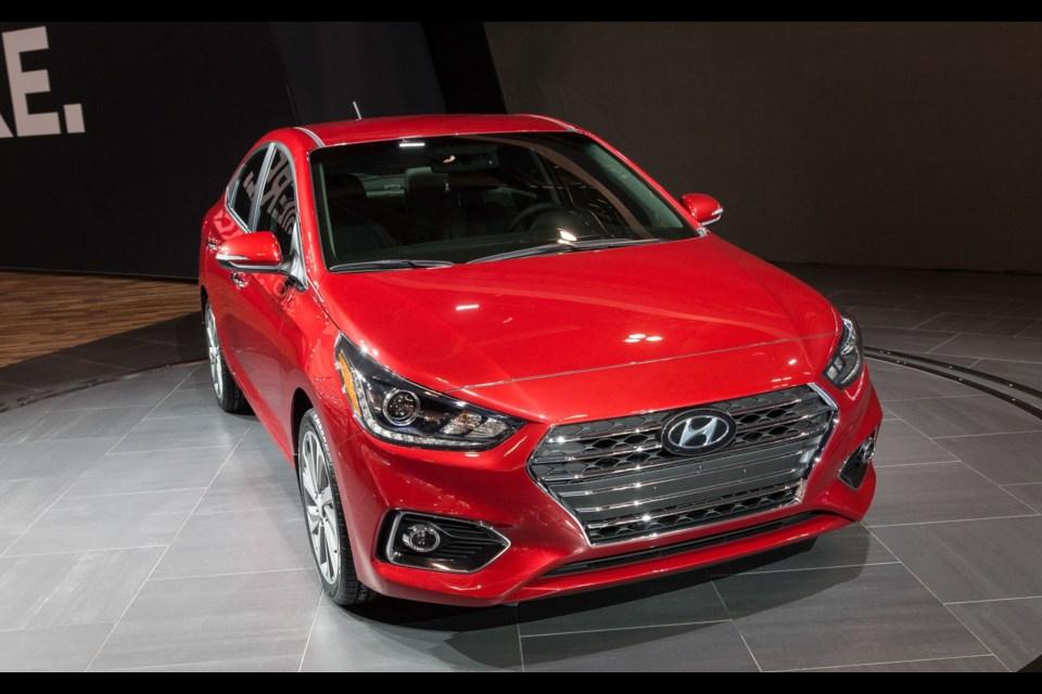 2018 hyundai accent hatchback. Unique Hyundai Credit MarcAndr Gauthier Throughout 2018 Hyundai Accent Hatchback T