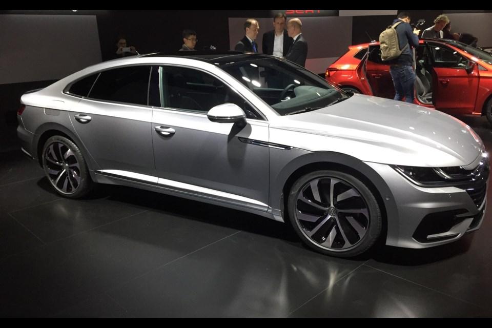 2018 Volkswagen Arteon Unveiled In Geneva Barrietoday Com