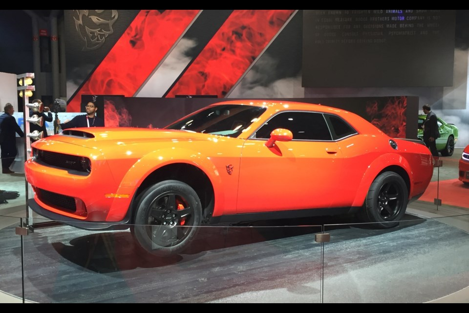 Dodge Challenger SRT Demon Gets Official
