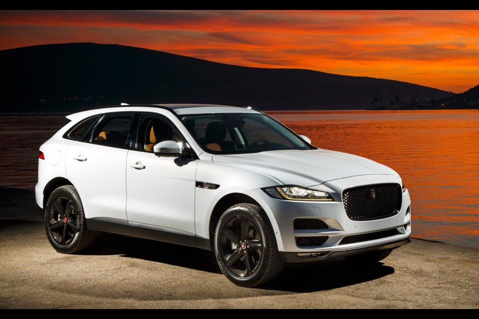 Jaguar F-PACE, 2017 World Car of the Year and 2017 World Car Design of the Year Credit Jaguar
