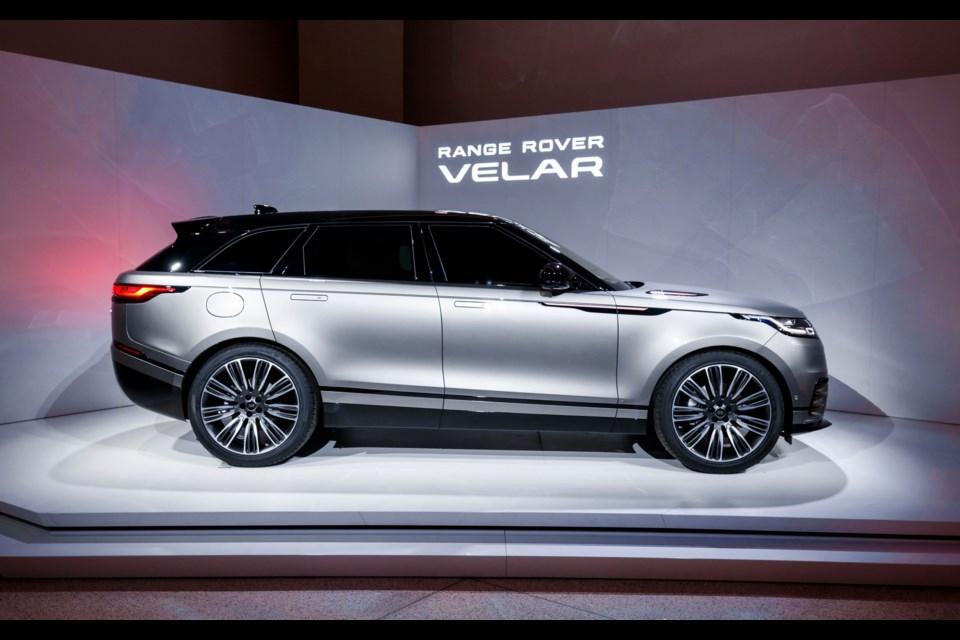 Le nouveau Range Rover Velar Credit