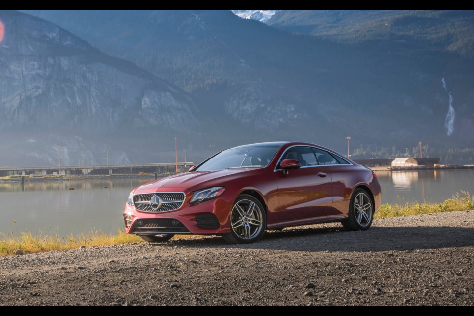2018 mercedes benz e class coupe in a class by itself for Mercedes benz credit