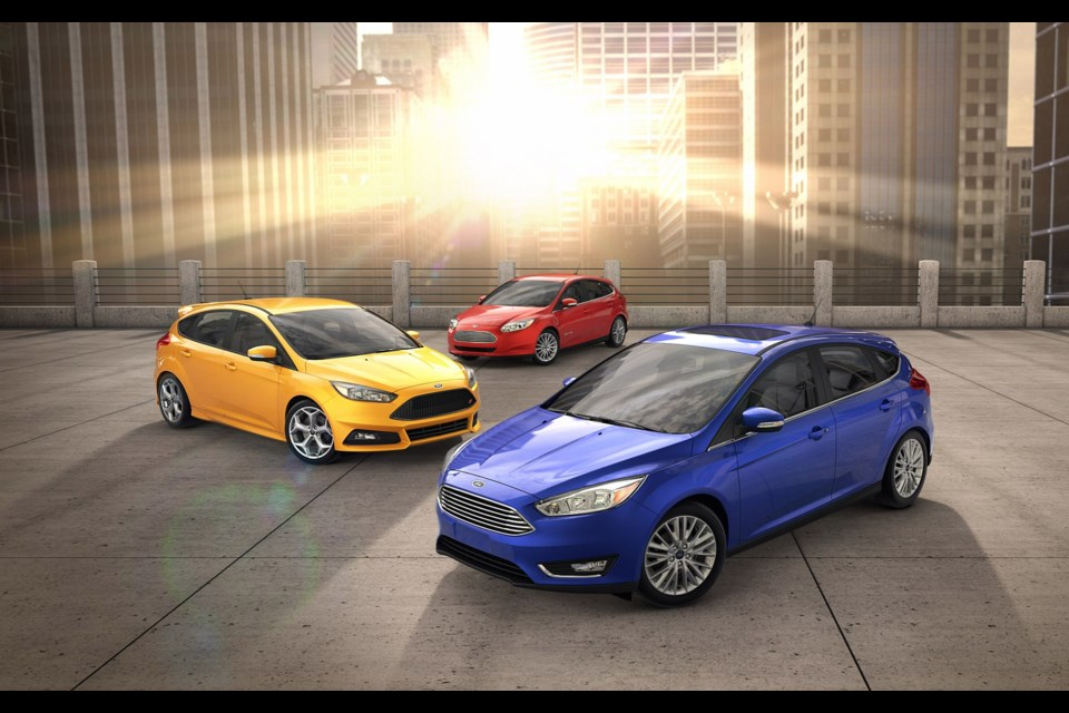 Next generation ford focus to be built in china for Ford motor company credit