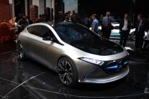 Mercedes-Benz Concept EQA: World Debut in Frankfurt