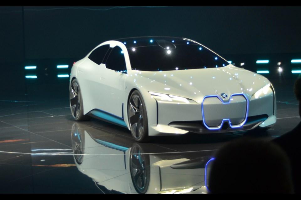 BMW i Vision Dynamics Credit Alain Morin