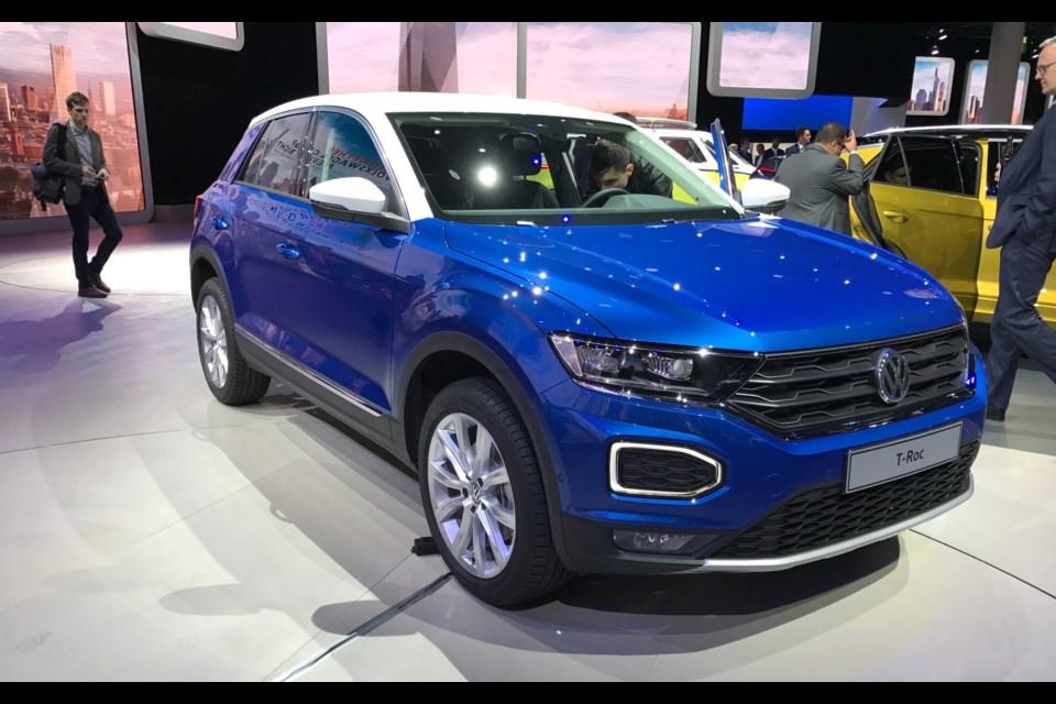 Volkswagen T-Roc Credit Sylvain Raymond
