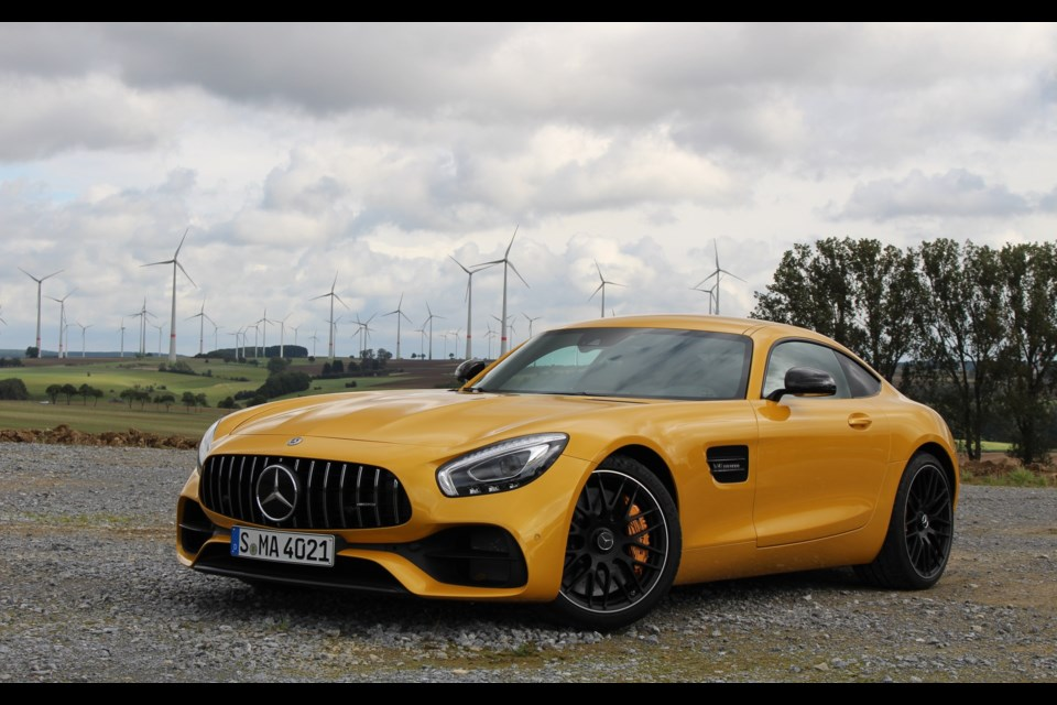 2018 Mercedes-AMG GT S Credit Michel Deslauriers