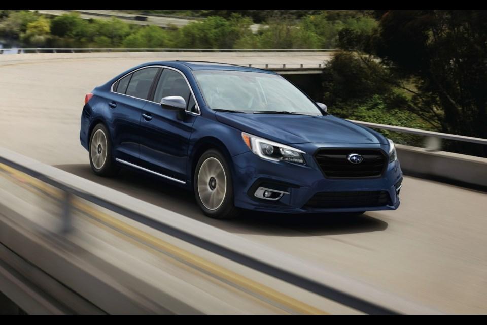 2018 Subaru Legacy Credit Subaru Canada Inc.