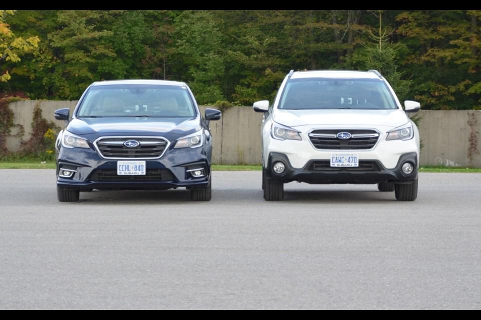 2018 Subaru Legacy and 2018 Subaru Outback Credit Alain Morin