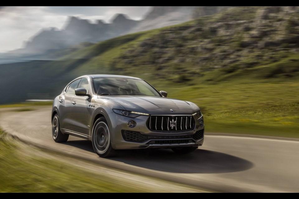2018 Maserati Levante GranLusso Credit Maserati Canada