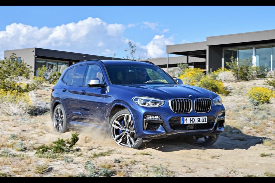 2018 BMW X3 Credit BMW AG