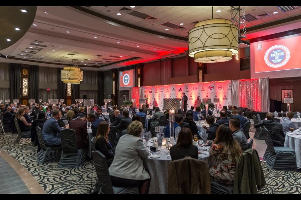 AJAC's Journalism Awards Banquet. Credit AJAC
