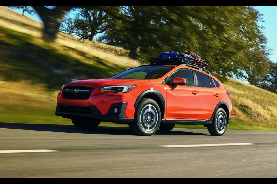 2018 Subaru Crosstrek  Credit Gabriel Gélinas